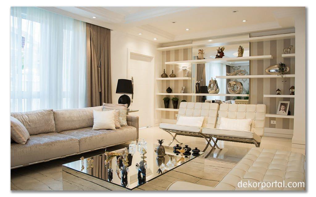 oturma odası dekorasyonları önerileri